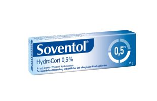 Soventol Hydrocort 0,5% Creme 15g  5,45 €