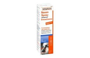 Nasenspray ratiopharm für Erwachsene  2,70 €
