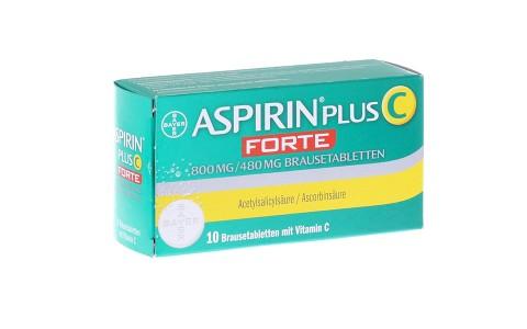 Aspirin plus C forte 10 Btbl. 6,25 €