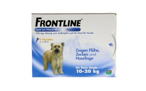 Frontline Spot on H 20 6 Pipetten  36,95€