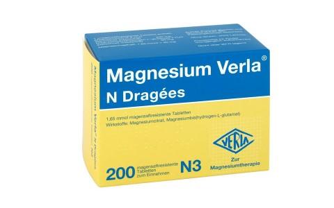 Magnesium Verla N Dragees 200 St. 10,95 €
