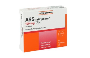 ASS ratio 100 mg magensaftresistent  100 St.  2,70 €