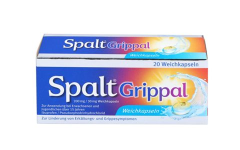 Spalt Grippal 200mg/30mg  20 Weichkapseln  7,95 €
