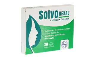 SolvoHexal Tbl.  20 St.  6,50 €