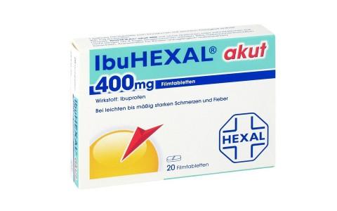 IbuHexal akut 400mg Tabl. 20 St.  3,50 €