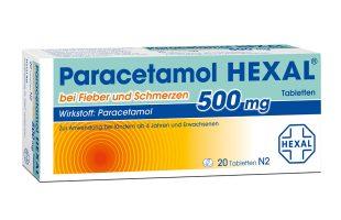 Paracetamol Hexal 20 Tbl. 1,75 €