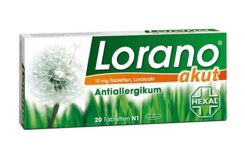Lorano akut Tabletten 20 St.  5,50 €