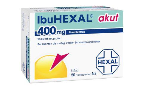 IbuHexal akut  400 mg Tbl. 6,95 €