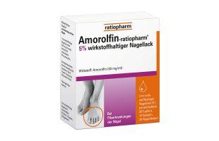 Amorolfin ratiopharm Nagellack 5%  3 ml 22,95 €