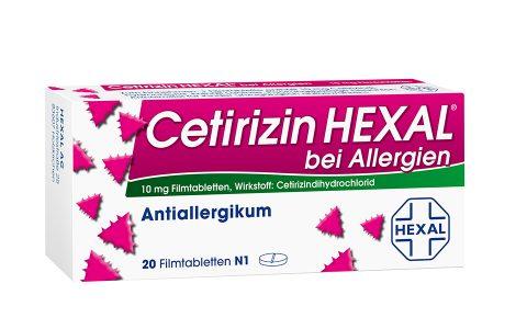Cetirizin Hexal Tbl.  20 St.  4,95 €